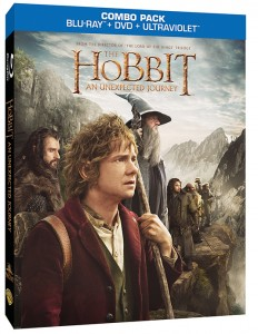2-disc Blu-ray edition of The Hobbit: An Unexpected Journey.