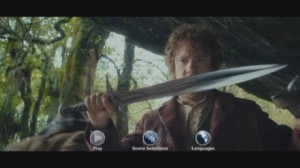 The Hobbit AUJ disc menu (non-US)