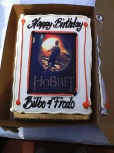 BBB-Baggins Bday cake