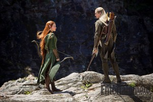 (Tauriel with Legolas)