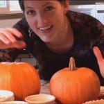 happy hobbit pumpkin