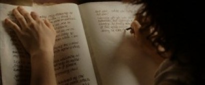Frodo writing