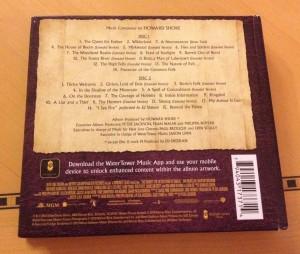 Soundtrack Back Cover