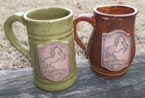 Prancing Pony mugs