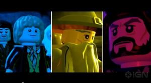 Lego Hobbit game trailer