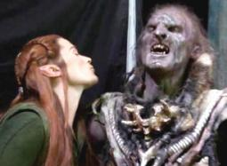 Tauriel and Orc Friend