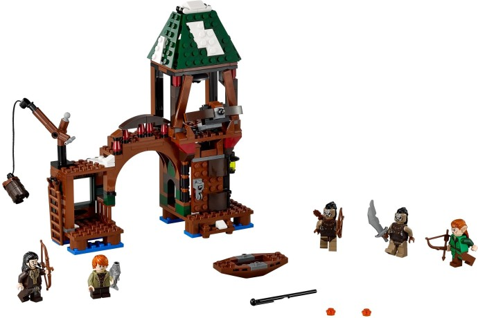 Lego Attack on Lake-town set