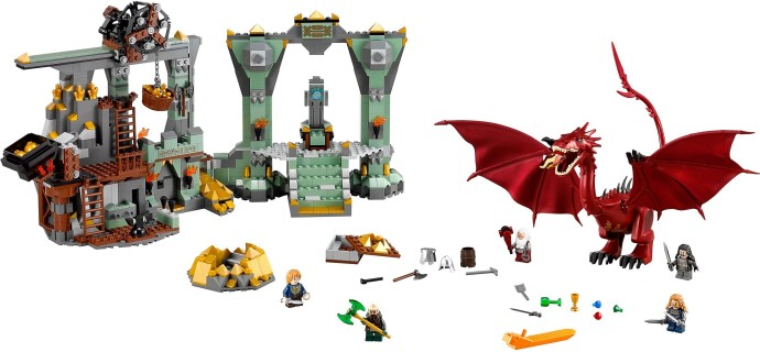 Lego The Lonely Mountain set