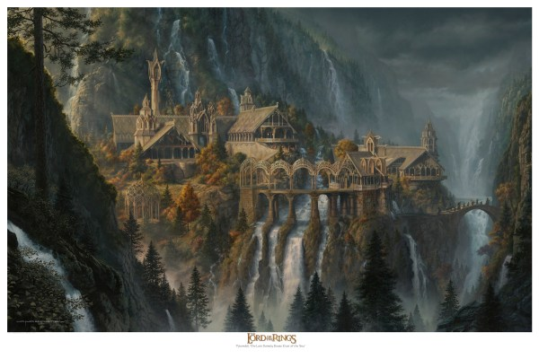 Lord of the Rings Rivendell Print
