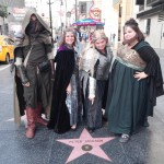 Members of the Los Angeles Tolkien Forever group