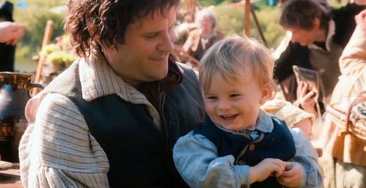 Did We Glimpse Baby Samwise J R R Tolkien Books And Movies Theonering Net The Lord Of The Rings The Hobbit The Silmarillion