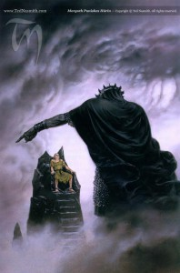 Hurin and Morgoth - Ted Nasmith