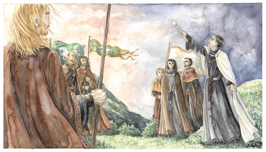 The oath of Cirion and Eorl