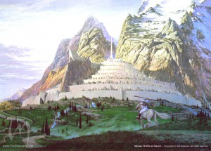 Tolkien, Nasmith, painting, illustration, Lord of the Rings, Silmarillion, Hobbit, Middle-earth