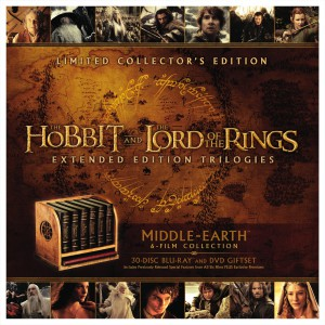 Middle-earth 6-film collector's edition