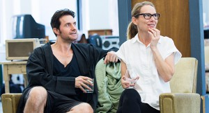Richard Armitage and Amy Ryan in rehearsal
