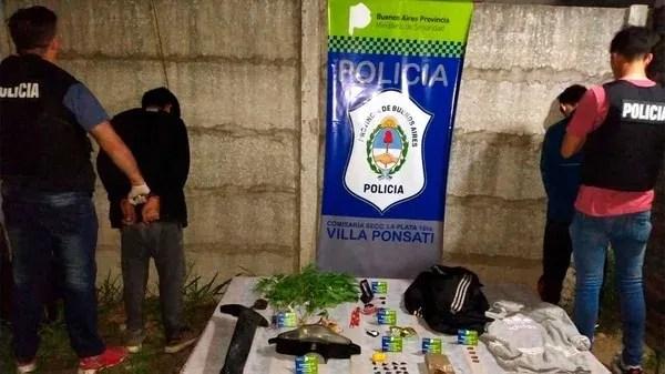 Los sospechosos fueron detenidos en Berisso