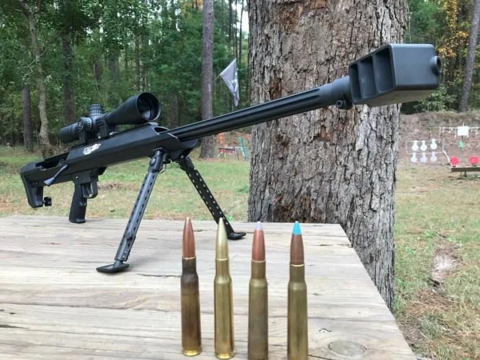 50 BMG shoots through oak tree