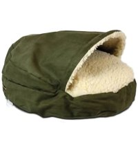 The Snoozer Luxury Orthopedic Cozy Cave Pet Bed, Large ...