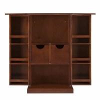 Trinity Walnut Fold-away Bar Cabinet - Brown | Konga Nigeria