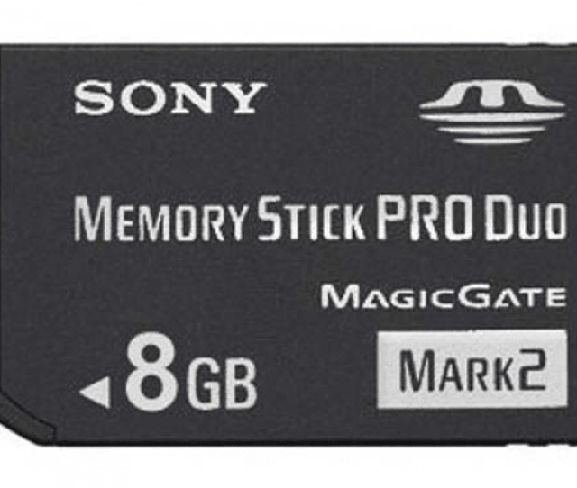 8 Gb Sony Pro Duo Mark 2 Memory Sti