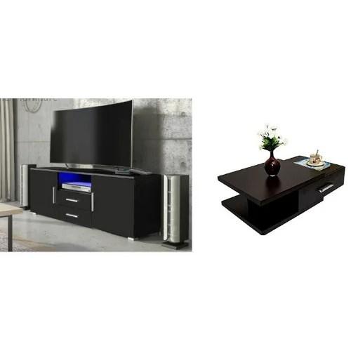 de exquisite tv stand center table 4 free side stool flower vase
