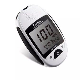 Fine test Auto-coding Glucometer Premium with 10 Strips | Konga Online  Shopping