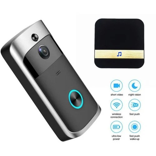 Wireless Video Doorbell Camera With Chime For Home Security