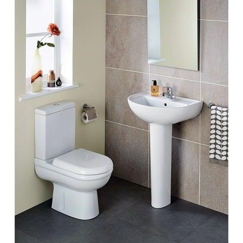 water closet set toilet seat wash hand basin tap