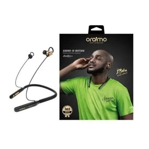 Oraimo Necklace 2 Sound In Motion Snug Fit Bluetooth Earpiece - Oeb-e74d- Nebula Blue | Konga Online Shopping
