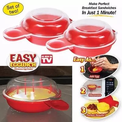 easy eggwich microwave egg cooker
