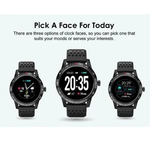 Oraimo Fitness Tracker Smart Watch - Tempo Osw -10 -black   Konga Online Shopping