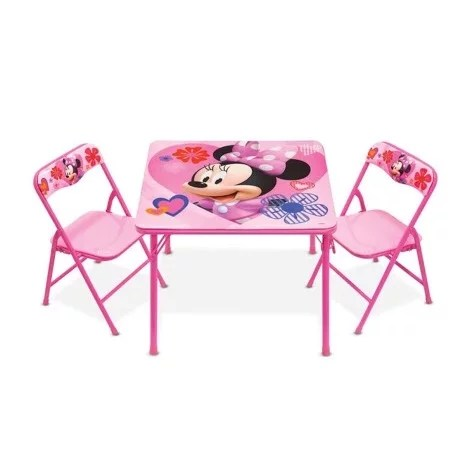 minnie table and chairs pop up disney mouse activities chair set konga online shopping