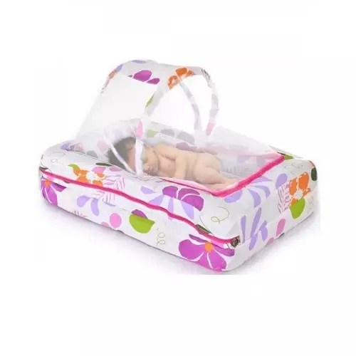 mobile baby bed multicolour