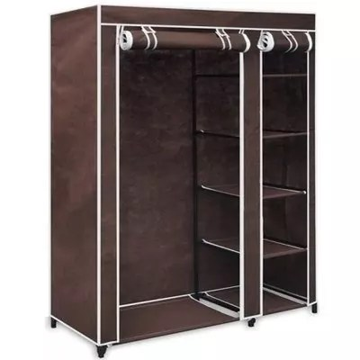 mobile wardrobe closet with free cloth hangers