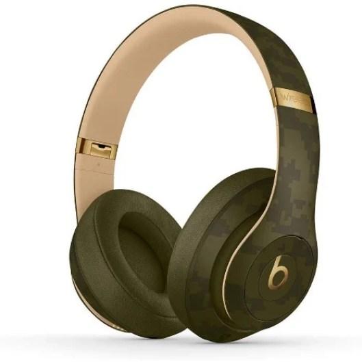 Studio3 Wireless Bluetooth Headphones - Forest Green (Camo Collection).