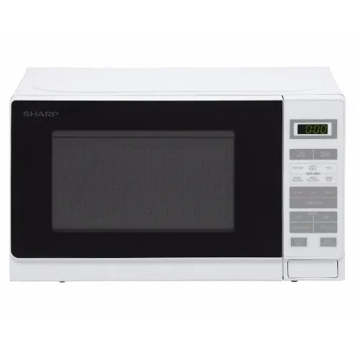 elegant 20l solo microwave oven with soft touch controls digital display white