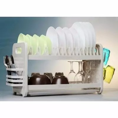 kitchen utensils holder double sinks for sale rustless plate rack konga online shopping