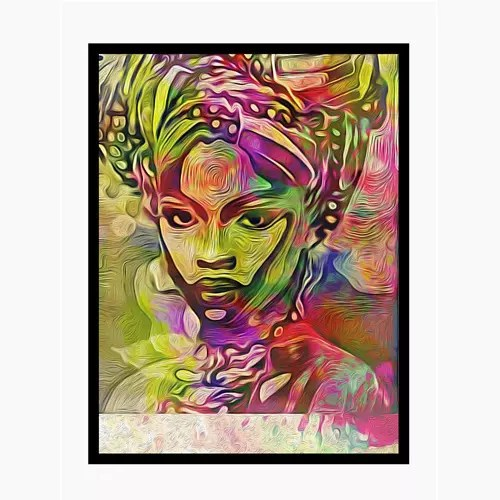 african colour creative picture