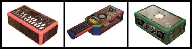 CAD designs of 3rd generation Noiseboxes
