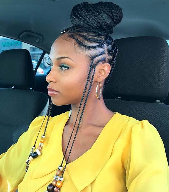 Fulani hairstyle
