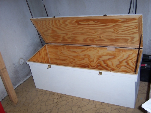 Wooden Truck Tool Box