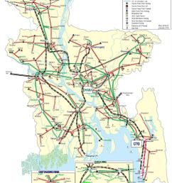 bangladesh electricity grid map [ 1270 x 1785 Pixel ]