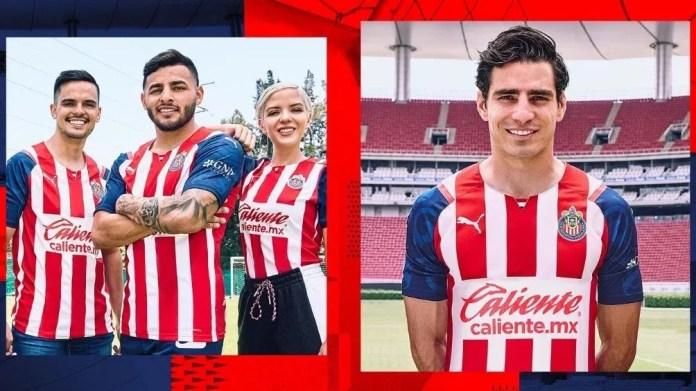 Los nuevos uniformes de Chivas
