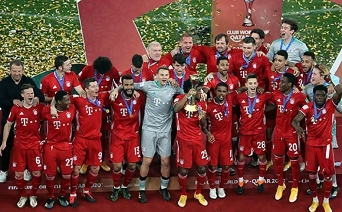 Bayern Munich festeja el Mundialito en 2020