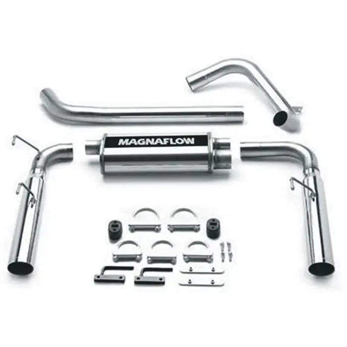 camaro magnaflow 15694 dual exhaust system 3 4 3 8 v6 1993 1997