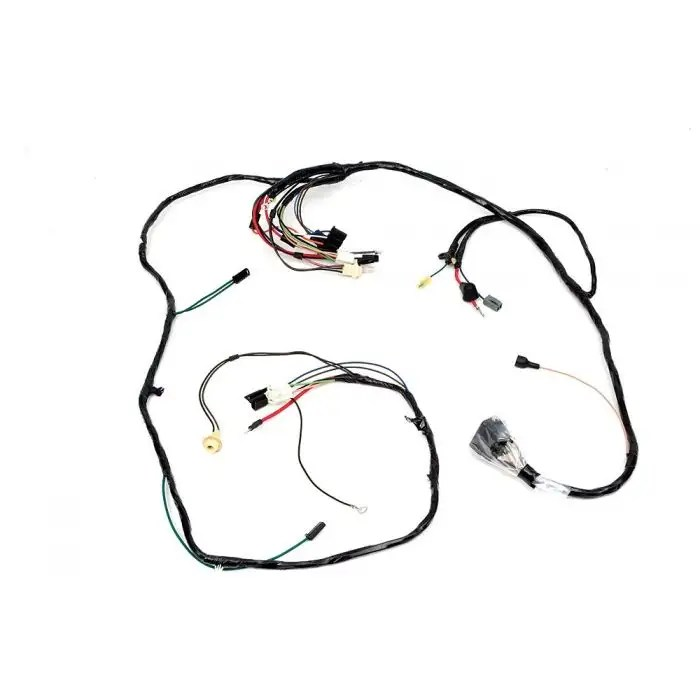Camaro Front Lighting Wiring Harness, 6 Cylinder, For Cars
