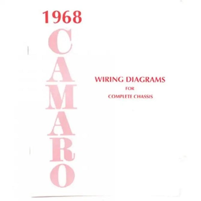 1968 camaro wiring diagram manual