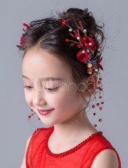flower girl headpieces crystal