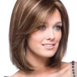 AF-S2-366565 Gold Shoulder Length Straight Synthetic Wig